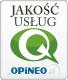 Jakośc usług - Opineo.pl